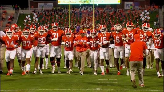 Clemson ranked No. 3 in initial College Football Playoff rankings