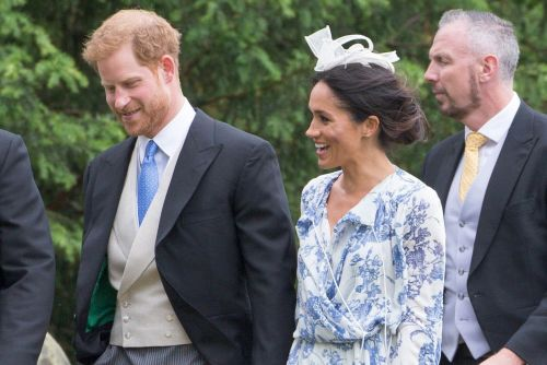 Harry and Meghan are wedding guests and more star snaps