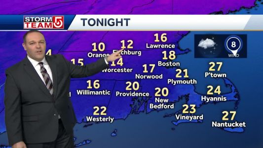 Video: Chilly Wednesday night, Thursday morning