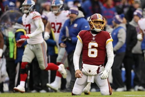 Mark Sanchez gets benched by Redskins in disastrous afternoon