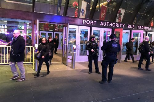 Explosion reported at Port Authority Bus Terminal