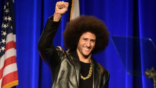 Colin Kaepernick Receives W.E.B. Du Bois Medal from Harvard