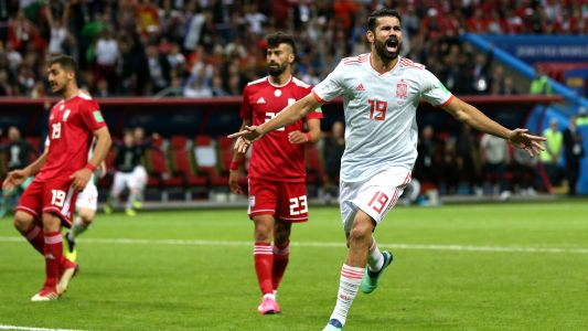 World Cup 2018: Spain holds off Iran behind Diego Costa goal
