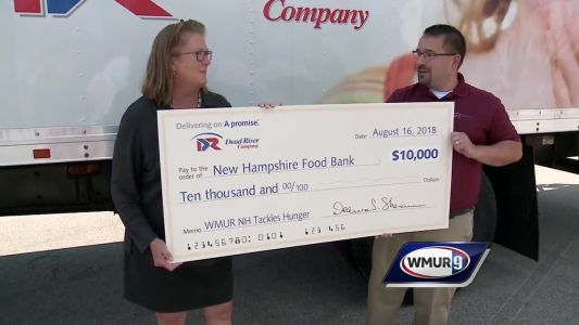 Dead River Company donates to NH Tackles Hunger