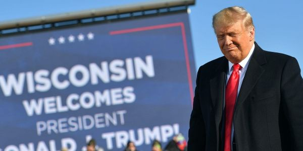 The Trump campaign's new lawsuit would invalidate 221,000 Wisconsin ballots - including votes cast by mail because of the coronavirus pandemic