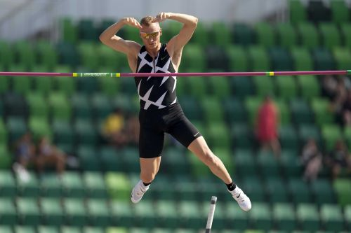Pole vaulter Sam Kendricks tests positive for COVID-19, will miss Olympics