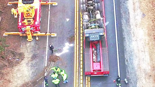 Tractor-trailer driver killed in overnight crash on Cape Cod highway