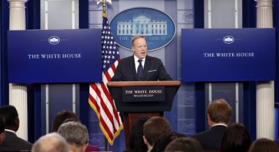 Spicer won't say if Trump believes overwhelming evidence of Russian election interference