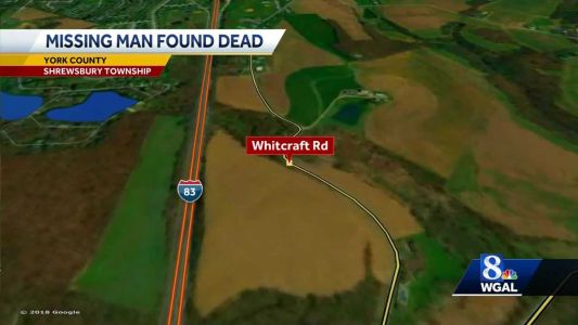 Missing man found dead in York County