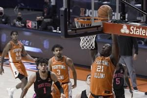 Cockburn leads No. 22 Illinois to 79-65 win over Penn State