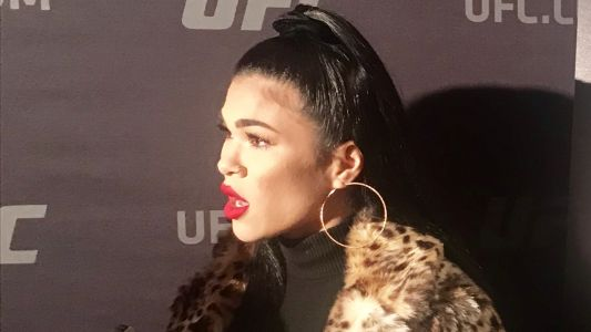 Rachael Ostovich says fight at UFC Brooklyn is for anyone who experienced domestic violence