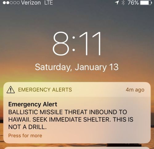 Hawaii Gov. David Ige apologizes for the 'pain and confusion' caused by false ballistic missile attack alert