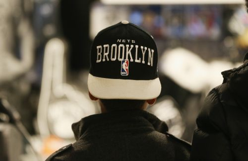 Dozens of protestors at Nets game wear 'Stand With Hong Kong' T-shirts