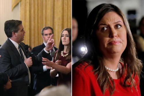 White House accused of using 'doctored' video of Jim Acosta ordeal