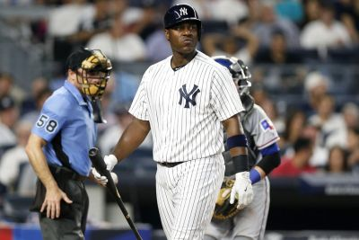 Yankees release Chris Carter and turn to another youngster