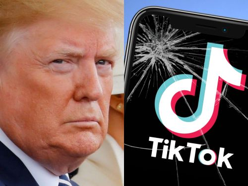 Trump told reporters on Air Force One he is banning TikTok from the US