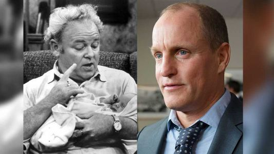 """Who's ready for a new Archie Bunker, live on your TV? Woody Harrelson plays the iconic character from """"All in the Family"""" in a live special tonight on ABC"""