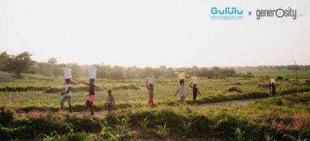 Smart water bottle maker Gululu partners with Generosity.org to improve drinking water sources