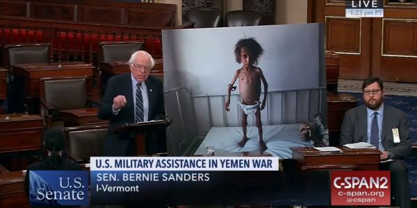 Senate rebels against Trump, votes to withdraw US support for Saudi Arabia in Yemen