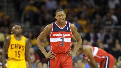 NBA playoffs 2017: Bradley Beal is hating on the Cavs from outside the club