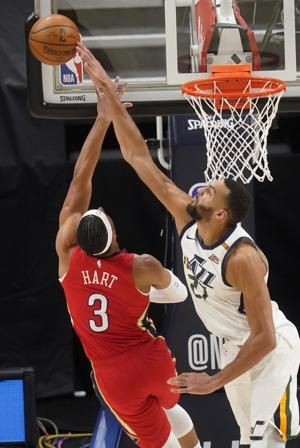 Mitchell helps Jazz beat Pelicans for 7th straight win