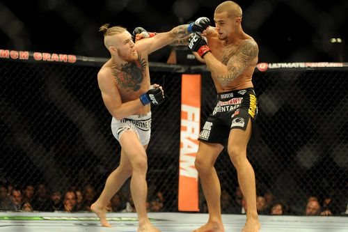 'You ain't sh*t, boy': Before UFC 257, watch Conor McGregor and Dustin Poirier's first faceoff in 2014