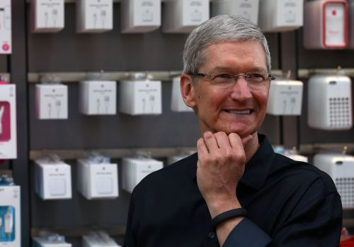 Apple is giving CEO Tim Cook over $38 million in stock to stay with the company through 2025