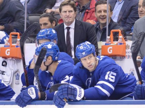 Remember when the Los Angeles Kings 'smacked' the Toronto Maple Leafs 7-0? Mike Babcock sure does