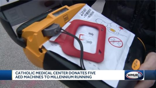 AEDs donated for use along race routes