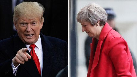 Trump 'bashes' UK's May on phone after she calls to congratulate midterm results