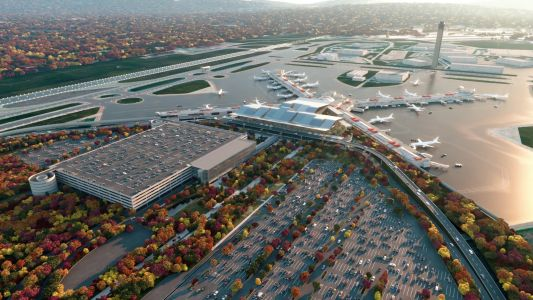 Design for $1.1 billion Pittsburgh airport remodel unveiled