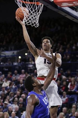 Clarke, Hachimura lead No. 8 Gonzaga over UT-Arlington 89-55