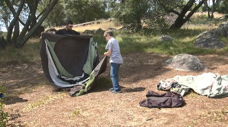 Folsom Lake ready for campers - rain or shine