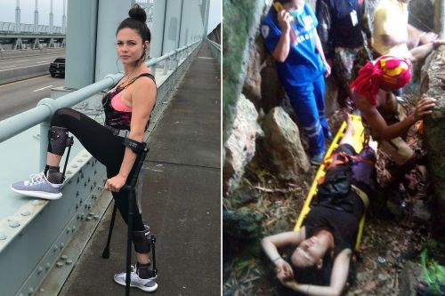 Woman who fell off cliff to escape sex attack is now running the NYC marathon