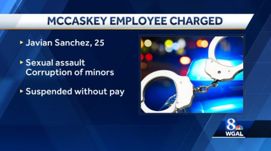 McCaskey High School employee charged with sex crimes against two students