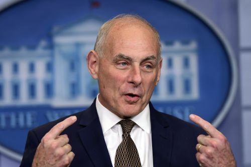 Kelly defends Trump's call to Gold Star widow