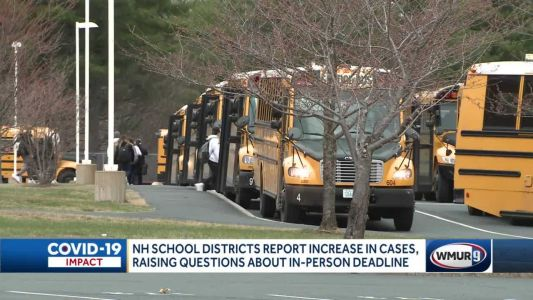 School districts report increase in COVID-19 cases