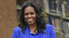 Michelle Obama Jokes About Daughter Sasha Running Against Donald Trump In 2020