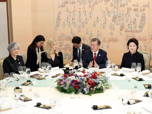 Ivanka Trump dined on grilled tofu and bibimbap at dinner with South Korea's president - and the meal had a hidden meaning