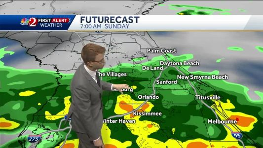 Severe weather risk Sunday as Alberto moves in