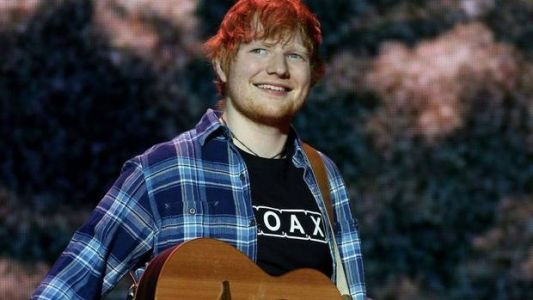 Ed Sheeran Announces Engagement on Instagram