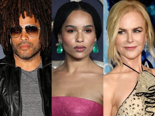 Lenny Kravitz is thrilled his daughter Zoë and his ex-fiancee Nicole Kidman are working together on 'Big Little Lies'