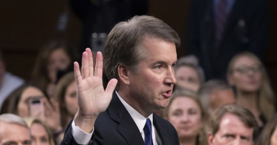 Women supporting Kavanaugh find themselves in storm's center