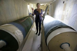 A whale's tale: Longest painting in North America restored
