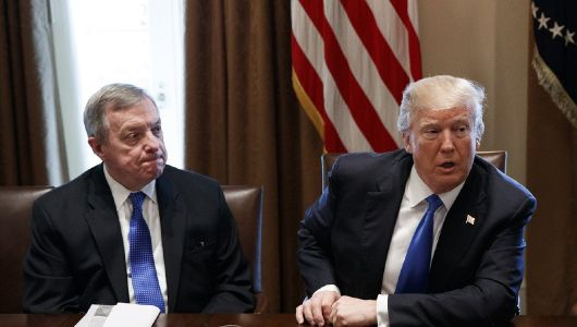 Trump: Durbin 'blew DACA' and 'misrepresented what was said' at White House meeting