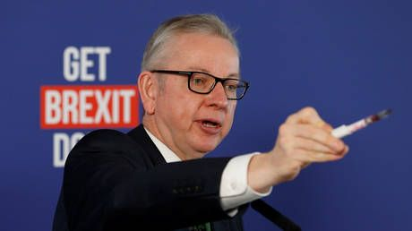 UK's Gove sees progress made on Brexit talks, says EU trade deal can be done
