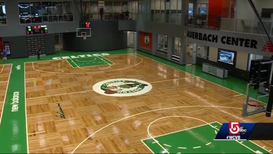 Boston Celtics open Auerbach Center, their new state-of-the-art facility
