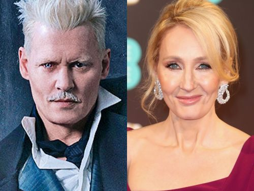 J.K. Rowling breaks her silence on her Johnny Depp casting controversy: she's 'genuinely happy' to have him in 'Fantastic Beasts'