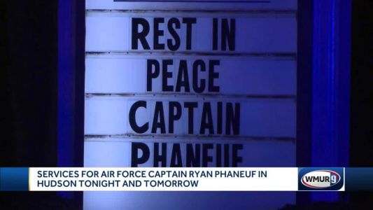 Wake held for fallen Hudson Air Force captain