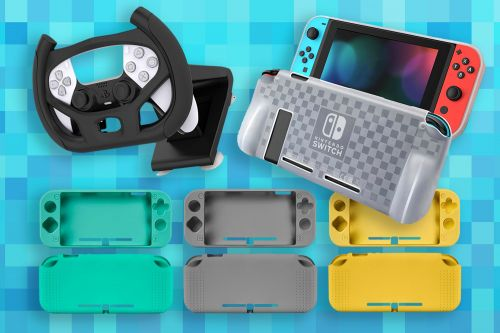 Don't miss these discounted accessories for PS5, XBOX, and Nintendo Switch